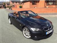 BMW 320d M SPORT CONVERTIBLE, FULLY LOADED, TAN BROWN LEATHERS, PARROT BLUETOOTH,