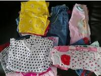 Baby girls clothes Bundle 9-12 months, excellent condition from smoke free home