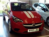 VAUXHALL CORSA HATCHBACK SPECIAL EDS 1.2 Sting (red) 2016