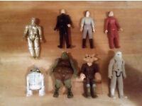 Retro Starwars figures
