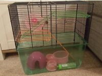 Large Hamster Cage with extras