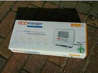 Eco manager, helps you control the electricity us a of your home appliances