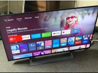 """43"""" 4K Android Sony Ultra Hd Led tv Good working order"""