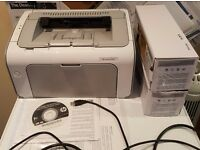 For sale: HP Laserjet P1102 printer in excellent condition