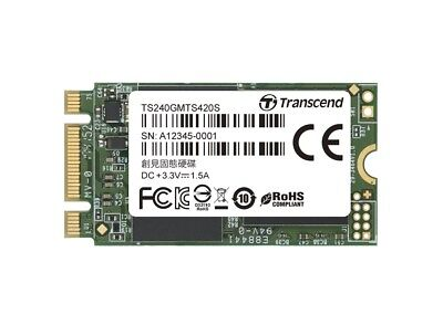 240GB Transcend M.2 SATA III 6Gb/s SSD MTS420 3D TLC Flash 42mm Form Factor for sale  Shipping to India
