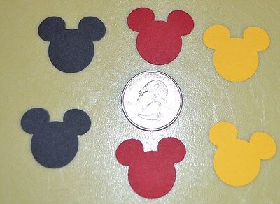 Mickey Mouse Disney head confetti decoration party supplies Birthday - Mickey Mouse Birthday Party