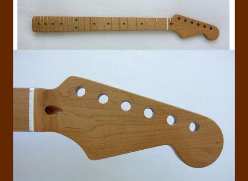 SALE*Stratocaster Roasted Guitar Neck - STRAT - 22 Jumbo w/Warmoth Bone Nut