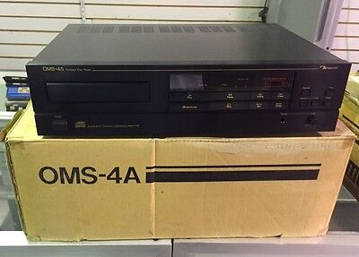 Vintage Nakamichi OMS-4A CD Player BRAND NEW IN BOX!!