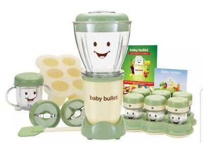 Magic Bullet Baby Care Food Making Blending System 20 Piece Set Blender Milling