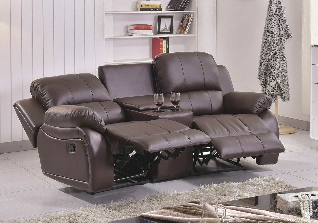 ledersofa kinosofa relaxcouch fernsehsofa recliner 5129. Black Bedroom Furniture Sets. Home Design Ideas