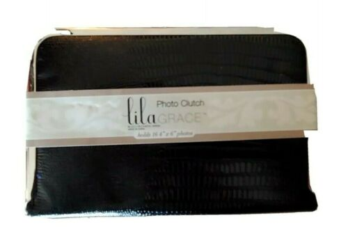 Lila Grace Photo Clutch Holds 16 4x6 In Photos New