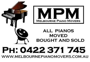 Melbourne Piano Movers - The real professionals. (Grand, Upright) Bayswater North Maroondah Area Preview