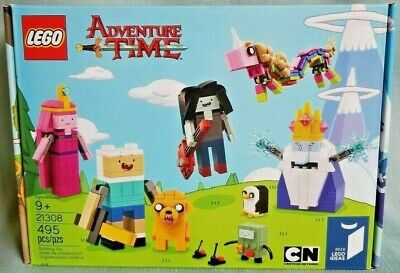 LEGO Adventure Time 21308 Lego Ideas #016 495pcs Building Set Cartoon Network