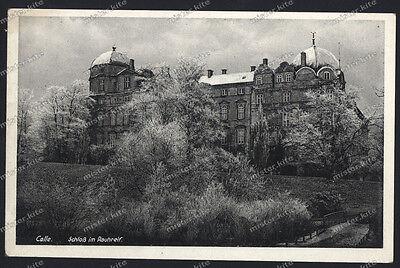 Celle-Schloss im Rauhreif-um 1920/30-Niedersachsen online kaufen