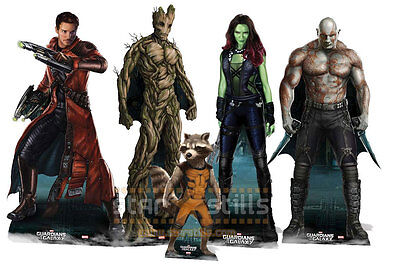 Guardians Of The Galaxy Lifesize CARDBOARD CUTOUTS Marvel standee standup party