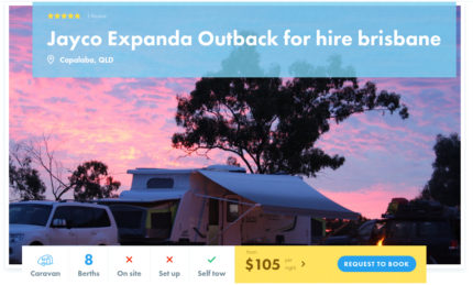 8 Berth Caravan FOR HIRE in Capalaba from $105/night