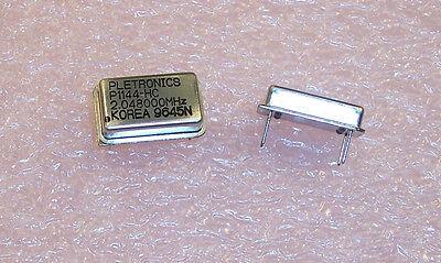 5 Pcs 2.048 Mhz 5v Crystal Oscillators Full Size P1144hc-2.048000mhz Pletronics