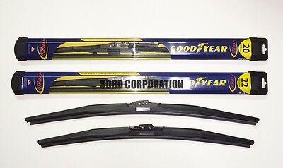 2004-2007 Chevrolet Malibu Maxx Goodyear Hybrid Style Wiper Blade Set of 2