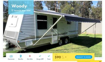 Caravan FOR HIRE in Cessnock West from $90/night