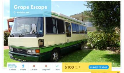 A Class FOR HIRE in Mullaloo from $100/night