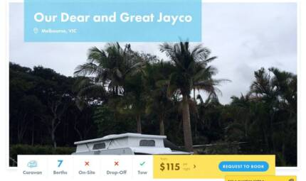 Caravan FOR HIRE in Melbourne from $115/night