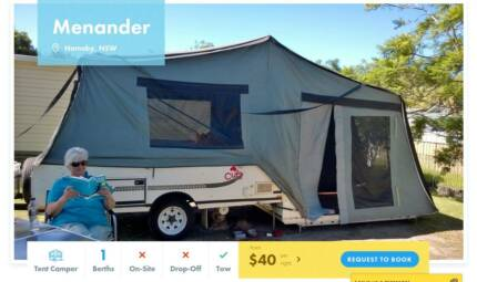 Tent Camper FOR HIRE in Hornsby from $40/night [12041]