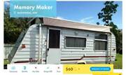 Caravan FOR HIRE in North Rothbury from $60/night Cameron Park Lake Macquarie Area Preview