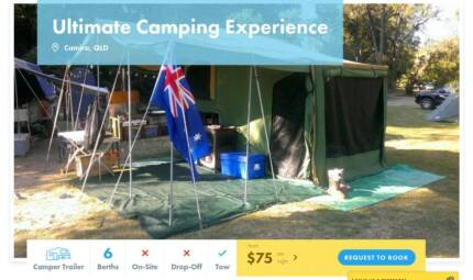 Camper Trailer FOR HIRE in Camira from $75/night [7445]