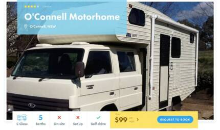 C Class FOR HIRE in O'Connell from $99/night