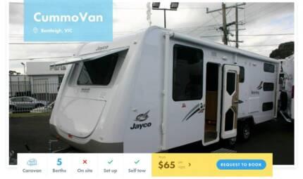 Caravan FOR HIRE in Bentleigh from $65/night