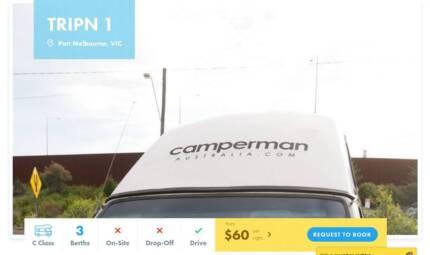 C Class FOR HIRE in Port Melbourne from $60/night