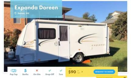 Pop Top FOR HIRE in Doreen from $90/night