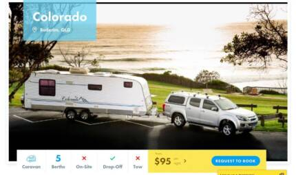 Caravan FOR HIRE in Buderim from $95/night
