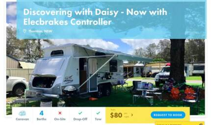Caravan FOR HIRE in Thornton from $80/night