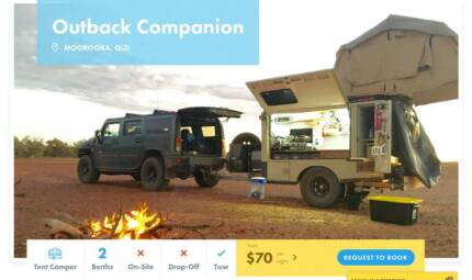Tent Camper FOR HIRE in MOOROOKA from $70/night [10361]