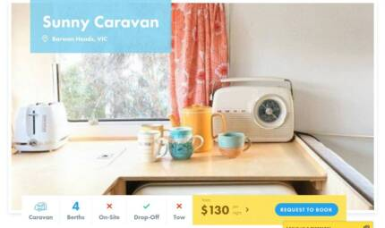 Caravan FOR HIRE in Barwon Heads from $130/night