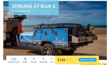 Camper Trailer FOR HIRE in Campbellfield from $120/night