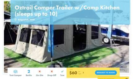 Tent Camper FOR HIRE in Balgowlah from $60/night [7043]