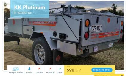 Camper Trailer FOR HIRE in Chinchilla from $90/night [12961]
