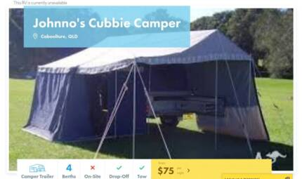 Camper Trailer FOR HIRE in Caboolture from $75/night [17056]