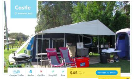 Camper Trailer FOR HIRE in Beerwah from $45/night Buderim Maroochydore Area Preview
