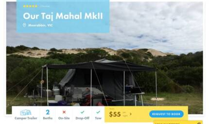 Camper Trailer FOR HIRE in Moorabbin from $55/night