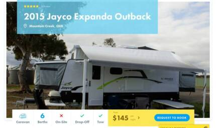 Caravan FOR HIRE in Mountain Creek from $145/night