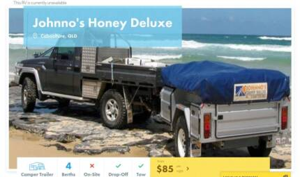 Camper Trailer FOR HIRE in Caboolture from $85/night [17054]