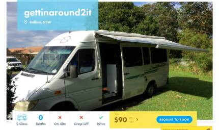 C Class FOR HIRE in Ballina from $90/night