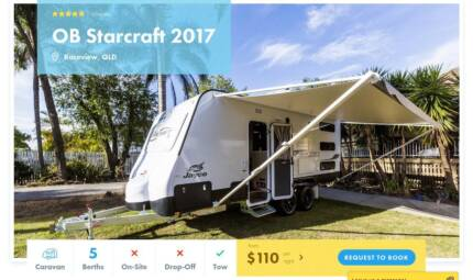 Caravan FOR HIRE in Raceview from $110/night [15322]
