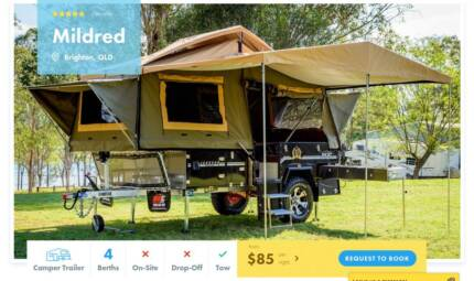 Camper Trailer FOR HIRE in Brighton from $85/night [15008]