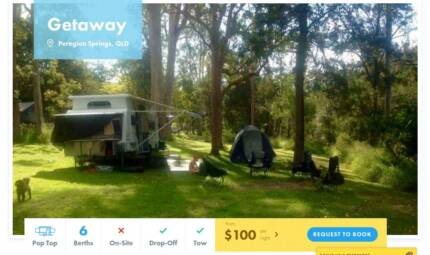 Pop Top FOR HIRE in Peregian Springs from $100/night [16262]
