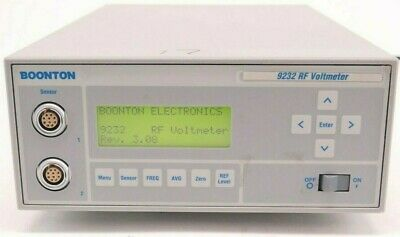 Voltmeter 9232 Rf Boonton 10 Khz To 1.2 Ghz Frequency Range