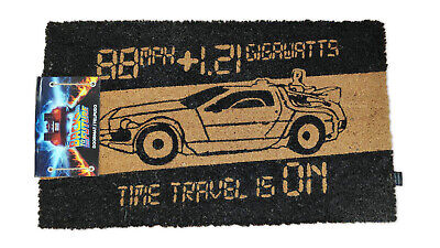 Paillasson Back to the Future Time Machine Doormat retour vers le futur